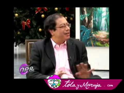 Tola y Maruja entrevistan a Gustavo Petro