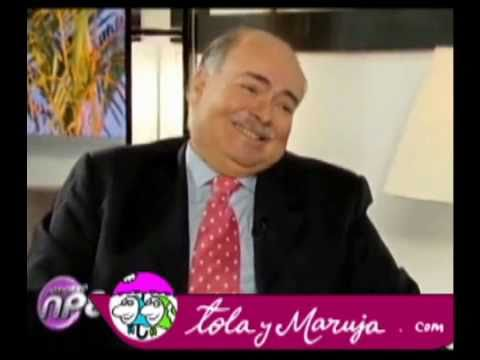 Tola y Maruja con Iván Mejía