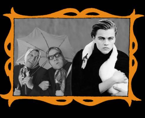 con Leonardo DiCaprio