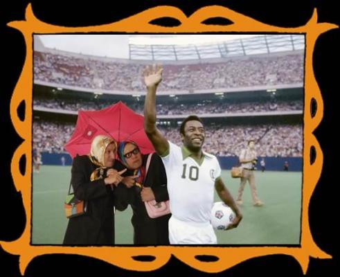 con Pelé