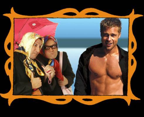 con Brad Pitt