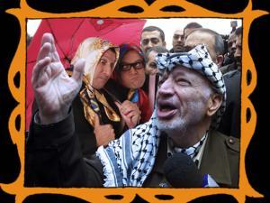 con Yaser Arafat