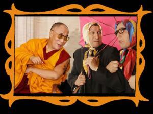 con el Dalai Lama