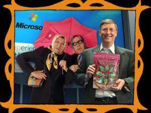 con Bill Gates