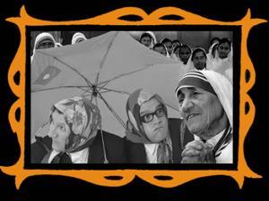 con Sor Teresa de Calcuta
