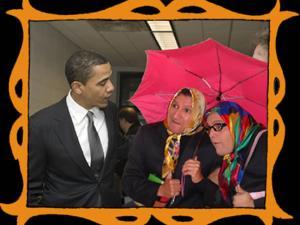 con Barak Obama