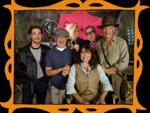 con Steven Spielberg