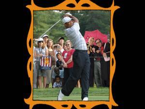 con Tiger Woods